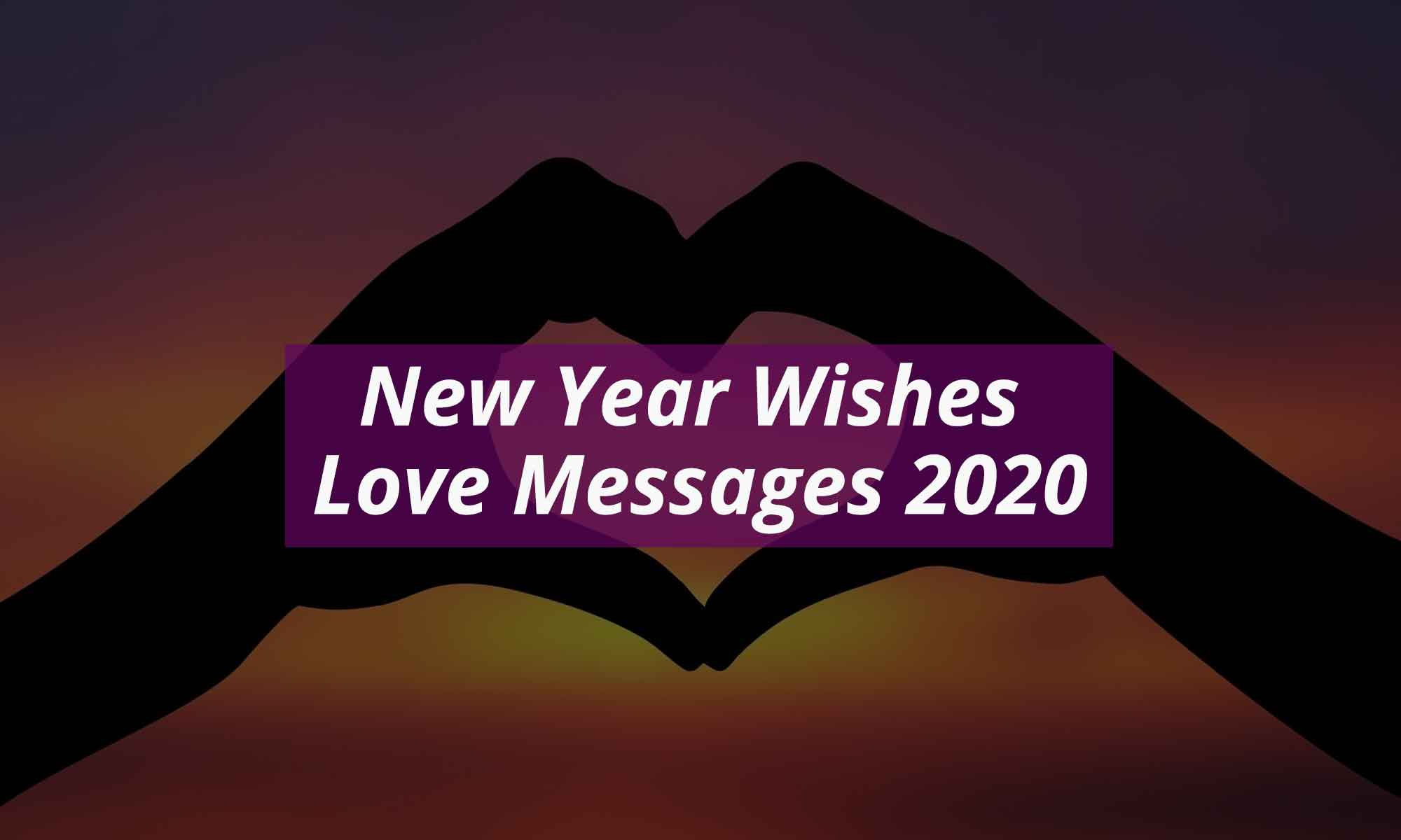 New Year Wishes Love Messages