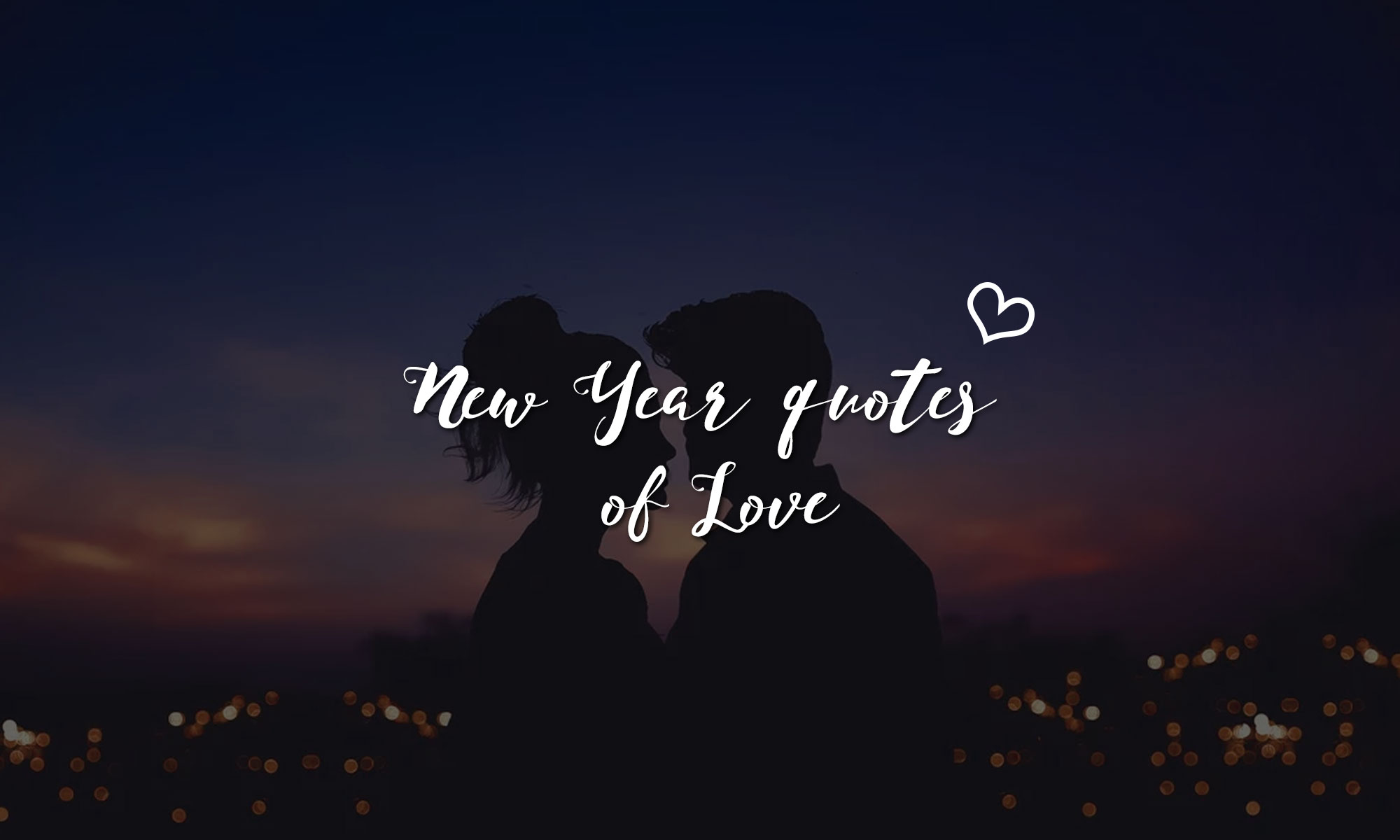 New Year quotes of Love
