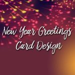 Awesome New Year Greetings Card Design 2020