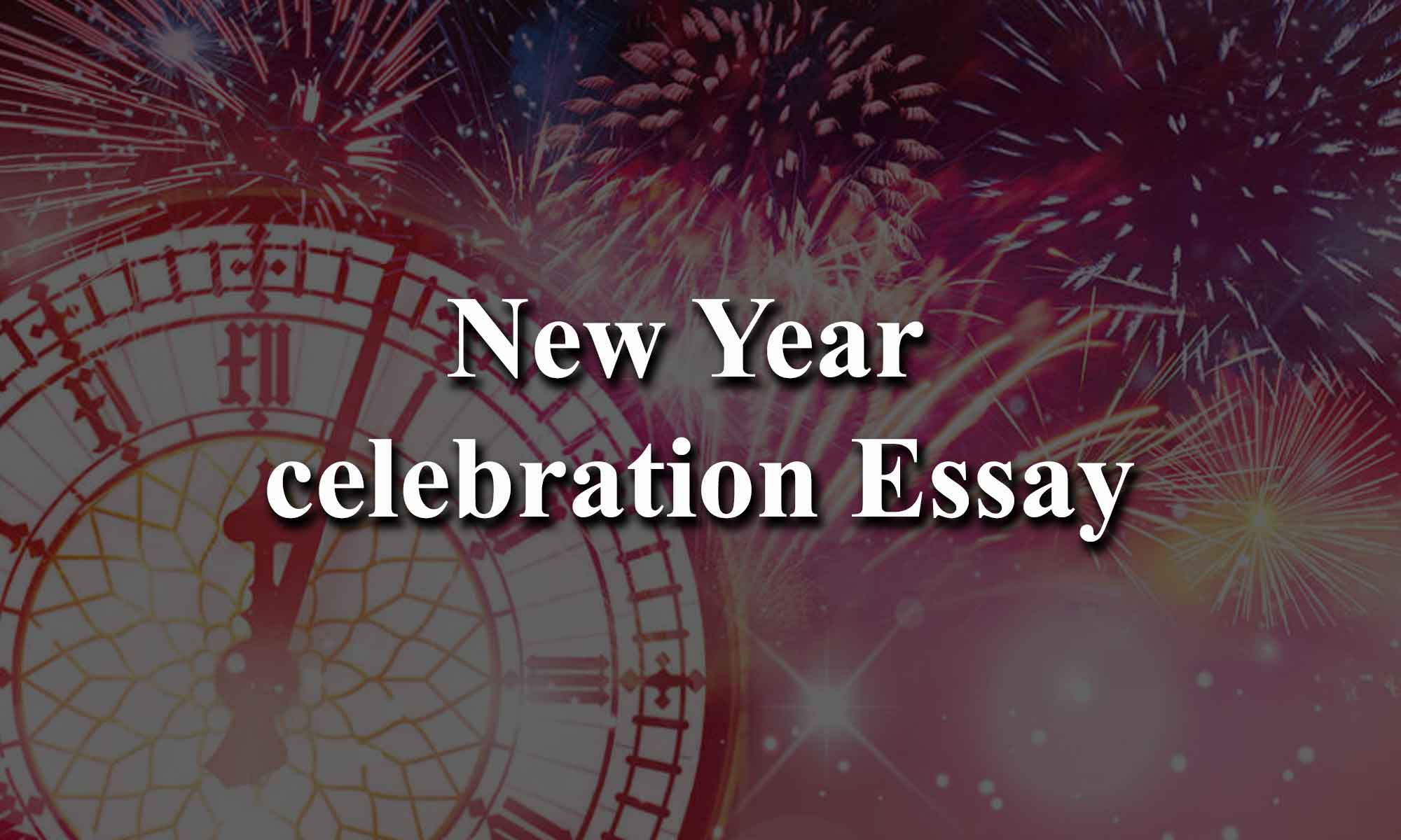 New Year celebration Essay
