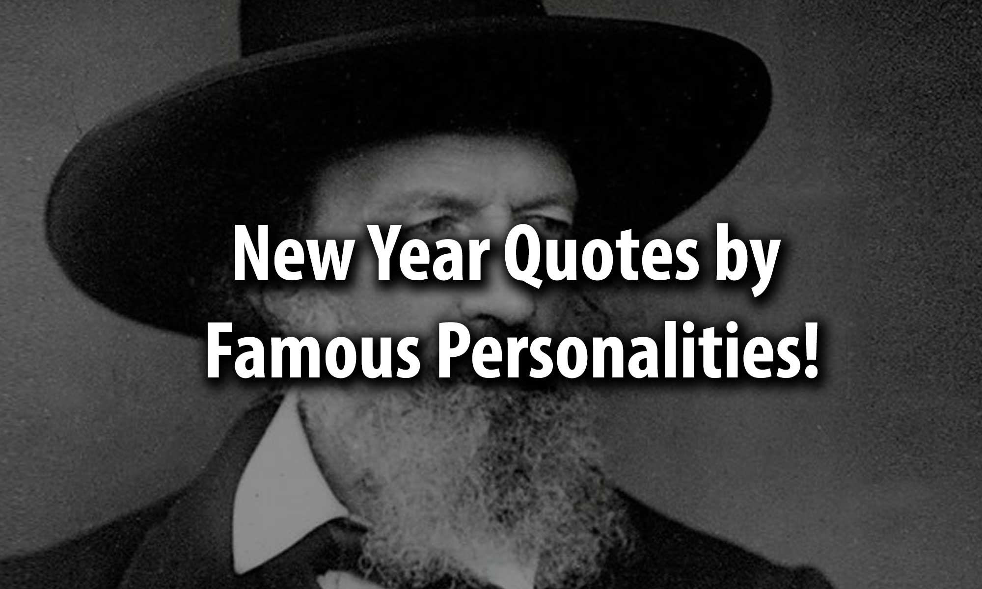 new year quotes by famous personalities