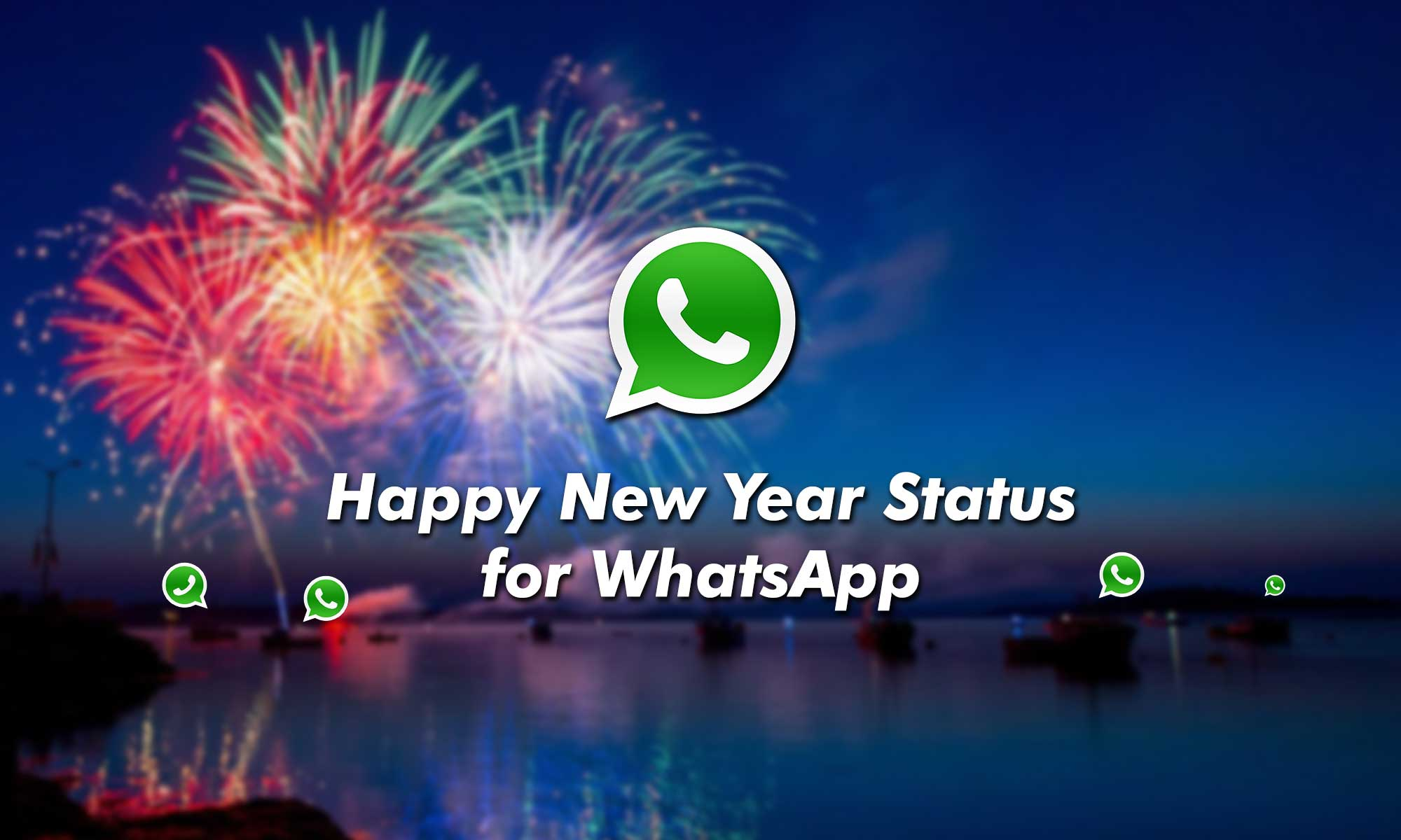 New Year Status for WhatsApp