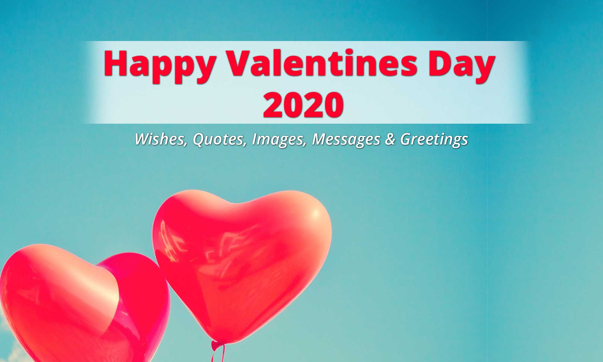 Happy Valentines Day 2020