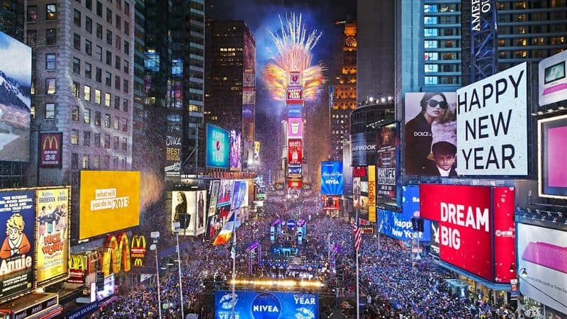 new year celebrations in the world
