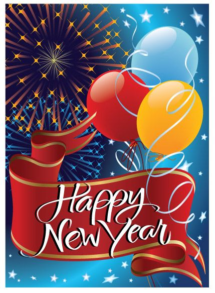 new year greetings and card designs